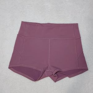 Lululemon Athletica High Waisted Shorts